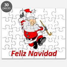 Spanish Dancing Santa Claus Puzzle