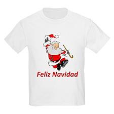 Spanish Dancing Santa Claus T-Shirt
