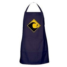 Tsunami Warning Apron (dark)