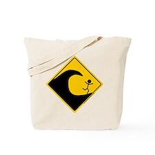 Tsunami Warning Tote Bag