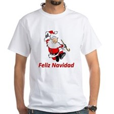Spanish Dancing Santa Claus Shirt