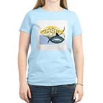 JESUS SHARK Women's Pink T-Shirt