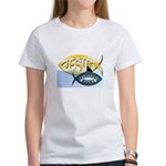 JESUS SHARK Women's T-Shirt