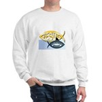 JESUS SHARK Sweatshirt