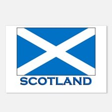 Scotland Flag Stuff Postcards (Package of 8)