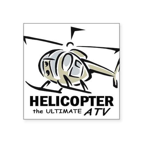 Ultimate ATV graphic Oval Sticker