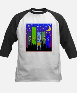 Dallas Skyline nightlife Tee