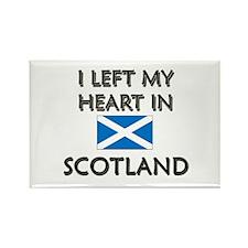 I Left My Heart In Scotland Rectangle Magnet
