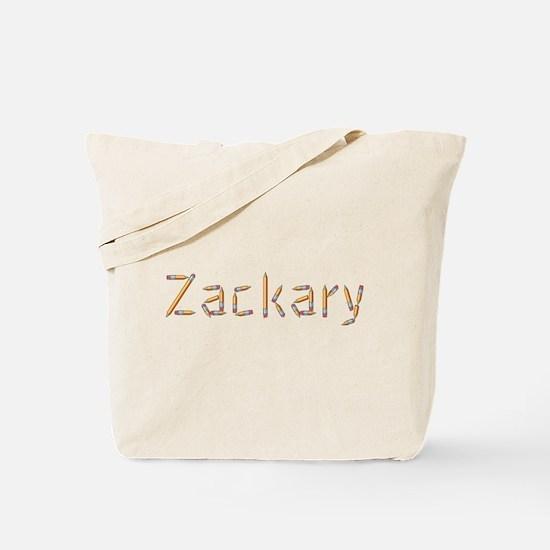 Zackary Pencils Tote Bag