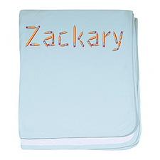 Zackary Pencils baby blanket
