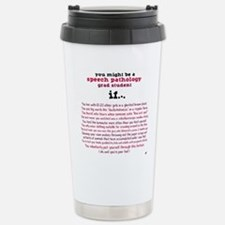 Unique Speech language pathology Travel Mug