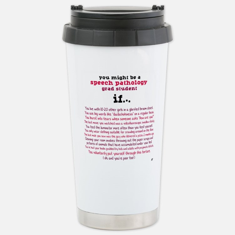 Cute Slp student Travel Mug