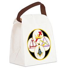 York Rite Bodies Canvas Lunch Bag