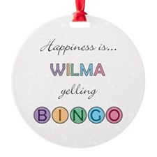 Wilma BINGO Ornament
