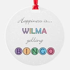Wilma BINGO Ornament