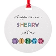 Sherry BINGO Ornament