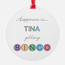 Tina BINGO Ornament