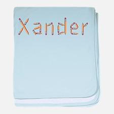 Xander Pencils baby blanket