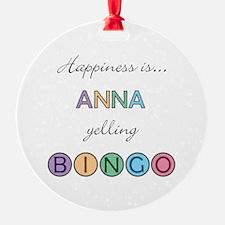 Anna BINGO Ornament