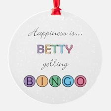 Betty BINGO Ornament