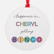 Cheryl BINGO Ornament