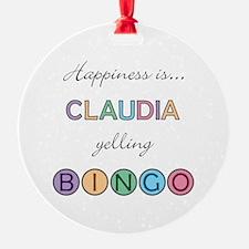 Claudia BINGO Ornament
