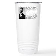 Cute Lincoln Travel Mug