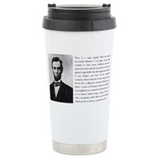 Cute Abraham lincoln lawyer Travel Mug