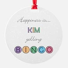 Kim BINGO Ornament