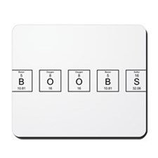 Periodic BOOBS Mousepad