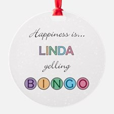 Linda BINGO Ornament