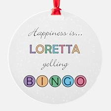 Loretta BINGO Ornament