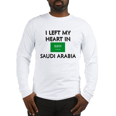 Flag of Saudi Arabia Long Sleeve T-Shirt