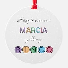 Marcia BINGO Ornament