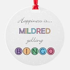 Mildred BINGO Ornament