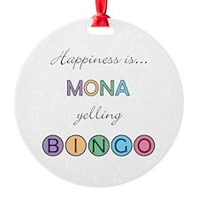 Mona BINGO Ornament