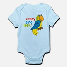 Crazy Bird Lady Infant Bodysuit