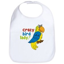Crazy Bird Lady Bib