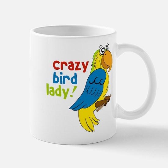 Crazy Bird Lady Mug