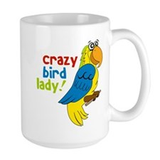 Crazy Bird Lady Mug