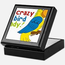 Crazy Bird Lady Keepsake Box