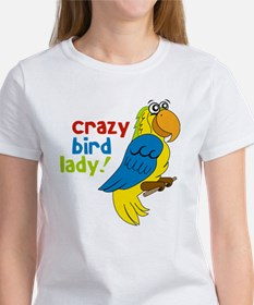 Crazy Bird Lady Women's T-Shirt