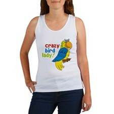Crazy Bird Lady Women's Tank Top