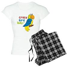 Crazy Bird Lady Pajamas