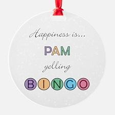 Pam BINGO Ornament
