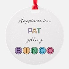 Pat BINGO Ornament