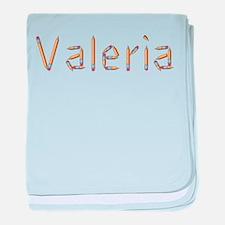 Valeria Pencils baby blanket