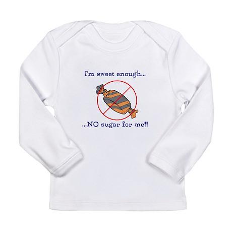 Sugar-free warning Long Sleeve Infant T-Shirt