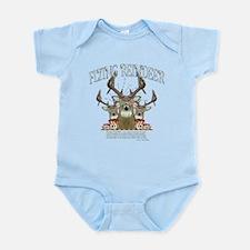Flying Reindeer Infant Bodysuit