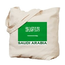 Flag of Saudi Arabia Tote Bag